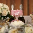 Royalty-Free Stock Photo: Wedding table, champagne