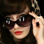 The girl in sun glasses — Stock Photo #5179167