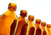 Small bottles — Stock Photo