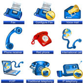 Phone icons 3 — Stock Vector