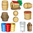 Barrel icons - Stock Vector