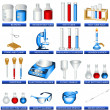 Laboratory tools — Stock Vector #4700136