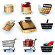 Shopping icons 2 — Stock Vector