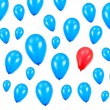 Blue Balloons — Stock Photo