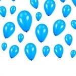 Blue Balloons — Stock Photo #4131055