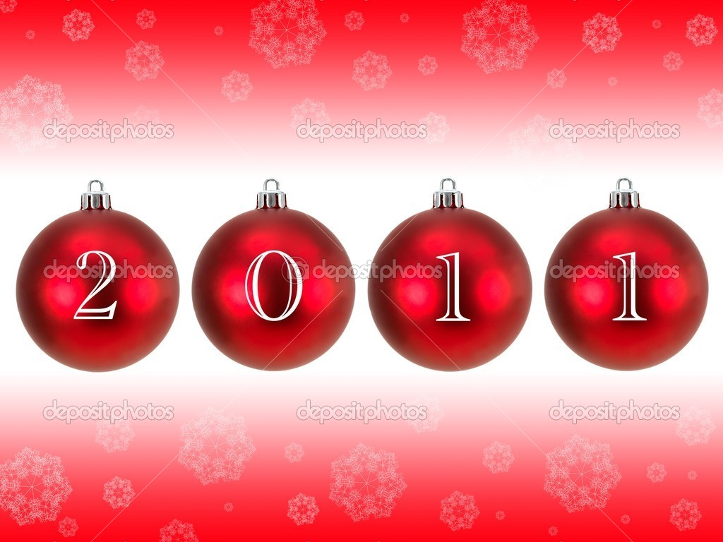 Christmas Decorations 2011 - Stock Image