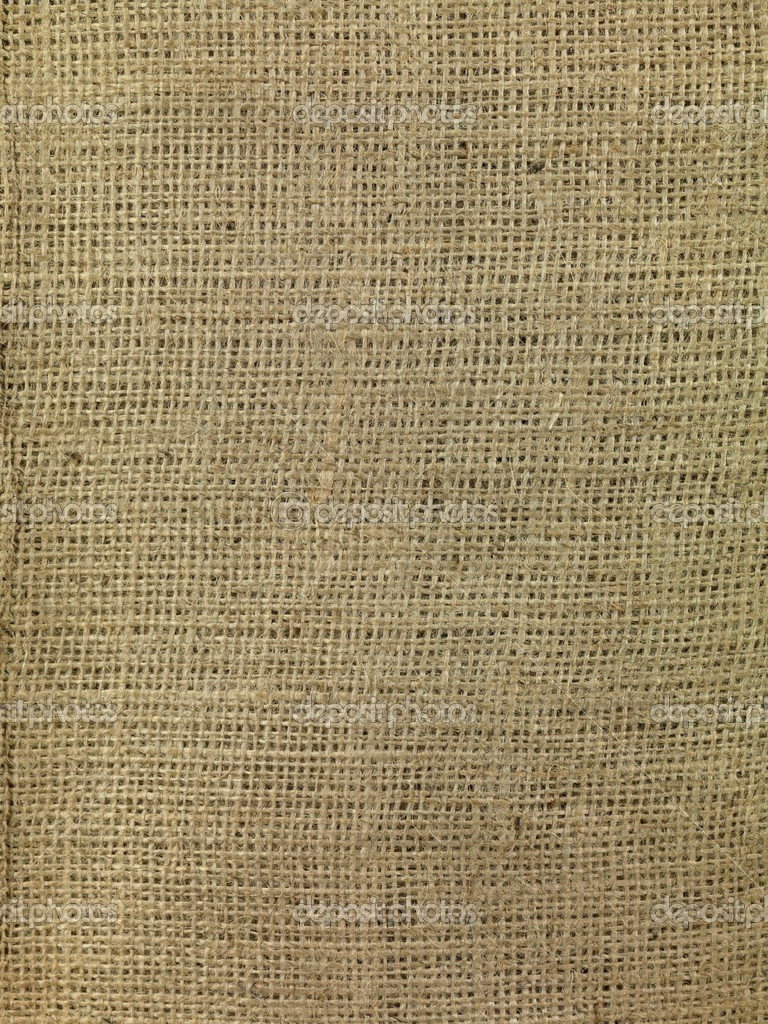 A close up shot of brown hessian cloth — Stock Photo #5044998