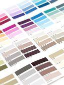 Color Paint Chart — Stock Photo