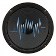 Stock Photo: Amplifier Speaker