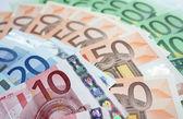 Money euro background — Stock Photo
