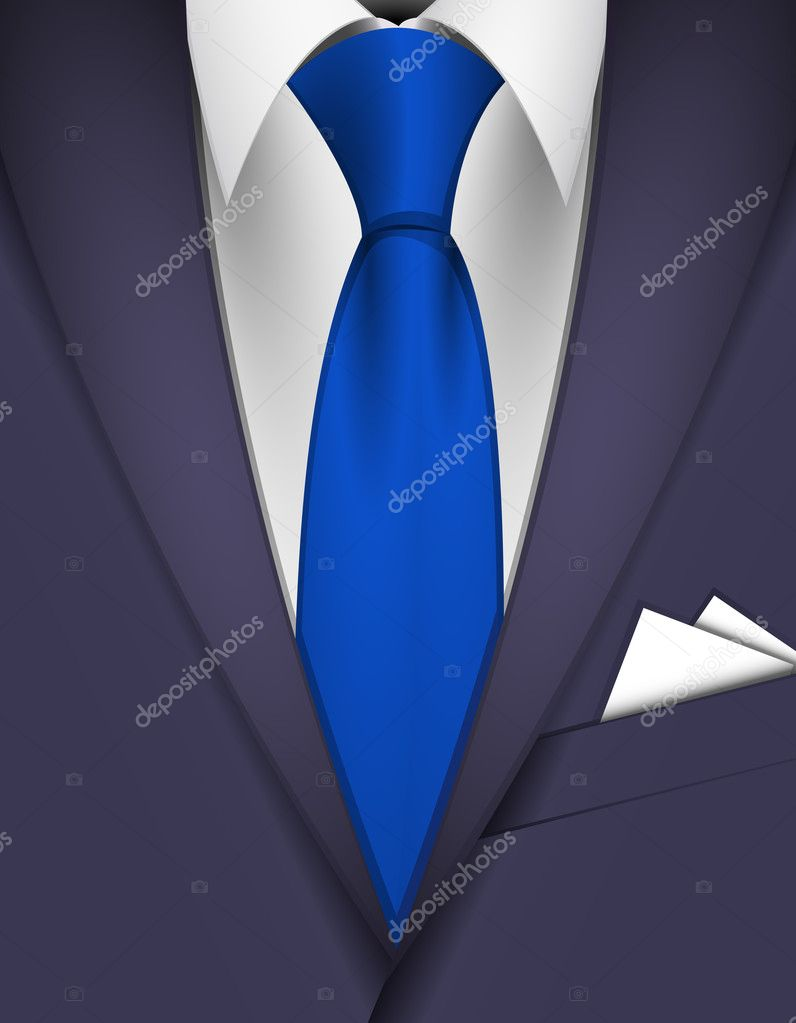 suit and tie � stock vector 169 tiloligo 4504681