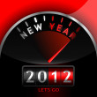 Royalty-Free Stock Imagen vectorial: 2012 counter on the dashboard