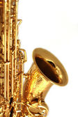 Gilden Sax Close Up — Stock Photo