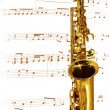 Royalty-Free Stock Photo: Golden Sax