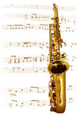 Golden Sax — Stock Photo