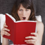 Reading a book — Stock Photo #5350274