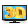 3D TV - Stock Photo