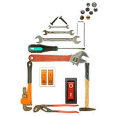 Tools house — Stock Photo