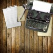 Foto de Stock  : Old vintage typewriter