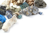 Minerales background — Foto Stock