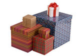 Colorful gift boxes — Stock fotografie