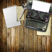 Vecchia macchina da scrivere d'epoca — Foto Stock
