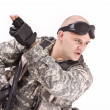 Stock Photo: Soldier