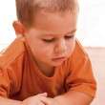 Boy reading book — Stock Photo #5127217