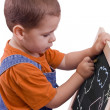 Stock Photo: Boy drawing