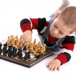 Stock Photo: Childre playing chess