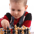 Childre playing chess — Lizenzfreies Foto