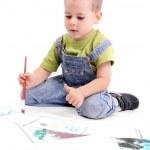 Boy painting — Stock Photo #5127562