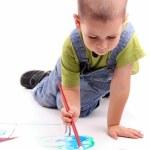 Boy painting — Stock Photo #5127564