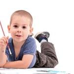 Boy painting — Stock Photo #5127565