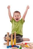 Niño jugando — Foto de Stock