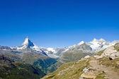 Matterhorn and Nadelhorn — Stock Photo