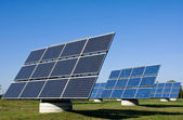 Solar energy plants — Stock Photo