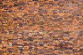 Vacker gammal tegelvägg — Stockfoto