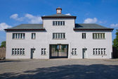 Entrance to Sachsenhausen concentration camp — Stock Photo