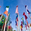 Stock Photo: International Flags