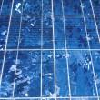 Solar panel background — Stock Photo