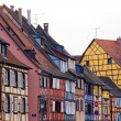Colourful half timbered houses — Stock Photo