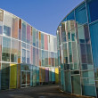 Colourful modern architecture — Stock Photo