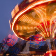 Chairoplane at a flee market — Stock Photo