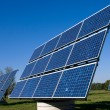 Stock Photo: Various solar energy panels