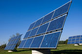 Różnych energii słonecznej panele — Zdjęcie stockowe