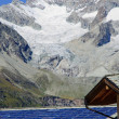 Solar technology in the alps — Stock Photo #4953718