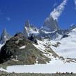 Stock Photo: Panoramof Mount Fitz Roy