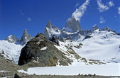 Panorama of Mount Fitz Roy — Stock Photo