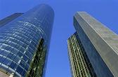 Frankfurt gökdelenler — Stok fotoğraf